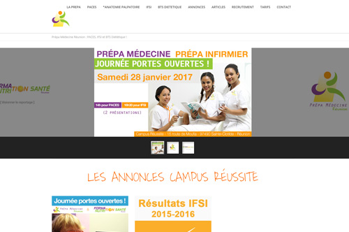 Création site web - Communication Ile de La Réunion