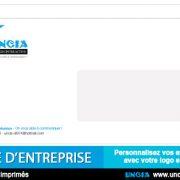 Enveloppe publicitaire d'entreprise - Publicité Ile de La Réunion