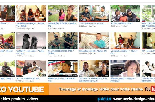 Créer ses vidéos Youtube à La Réunion