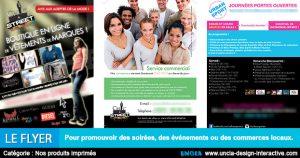 Création flyers - Communication Ile de La Réunion