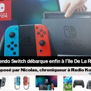 Nintendo Switch à la Réunion