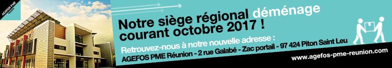 Agefos PME Réunion déménage courant Octobre 2017