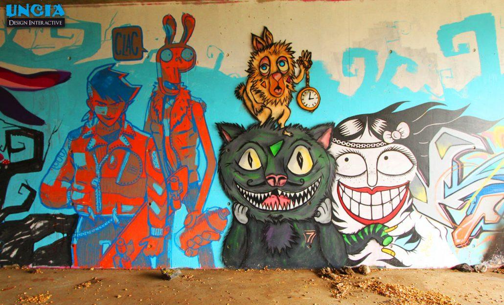Spot de graffiti de St Leu - Spot Cabris