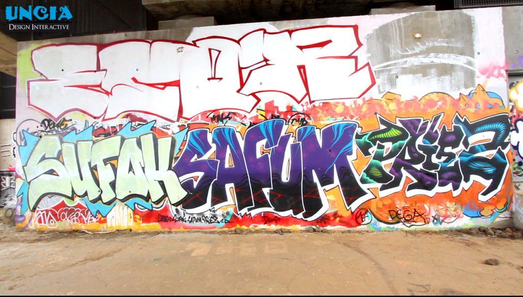 Spot de graffiti de La Saline - Réunion 974