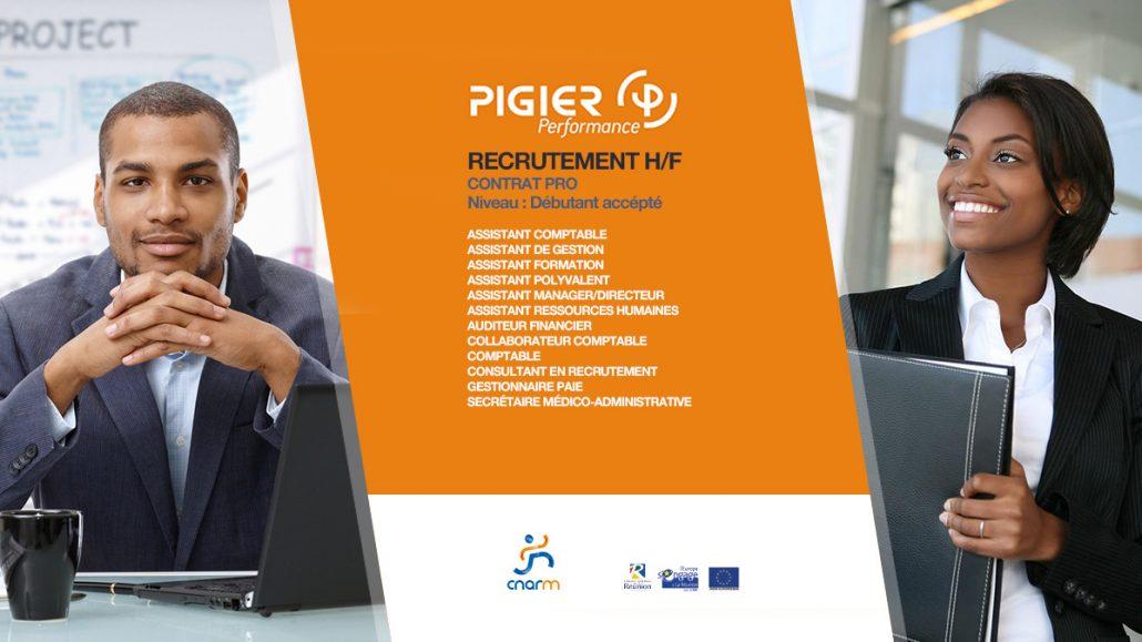 pigier performances recrutement mai 2018