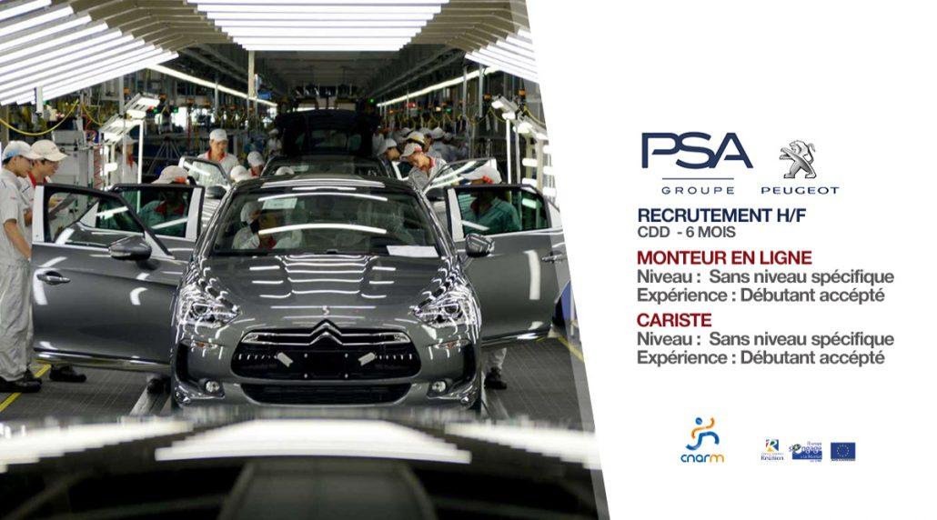 PSA Peugeot Recrutement 2018PSA Peugeot Recrutement 2018