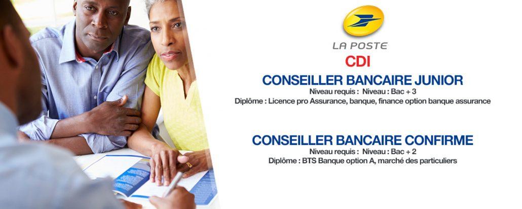 Recrutement La Banque Postale Juin 2018