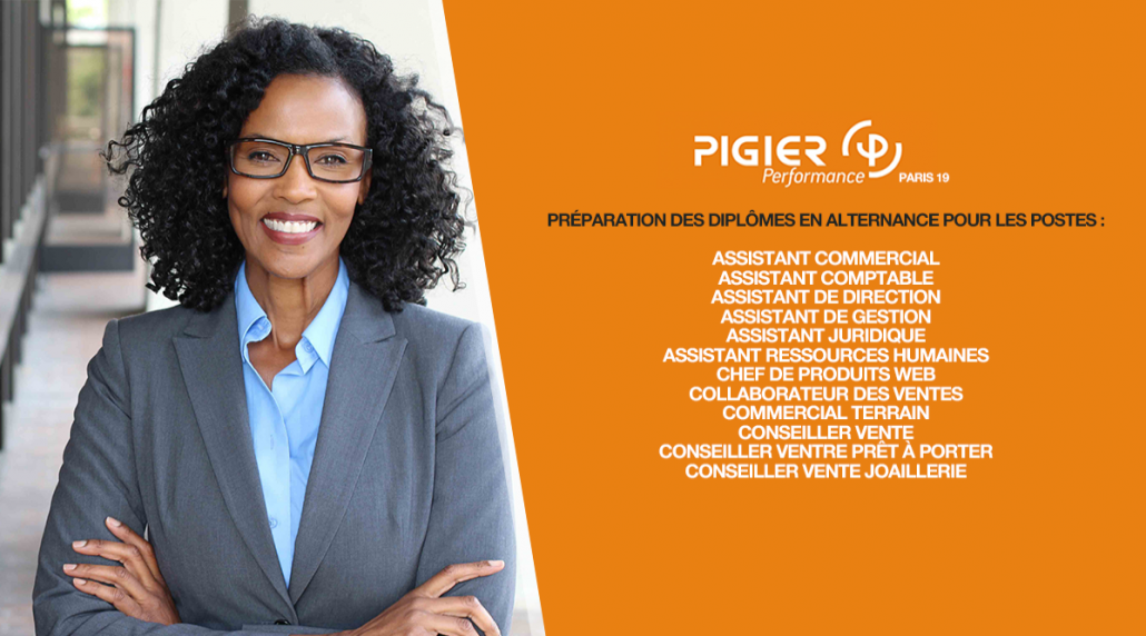 Pigier Performance Paris 19 Recrutement Juin 2018