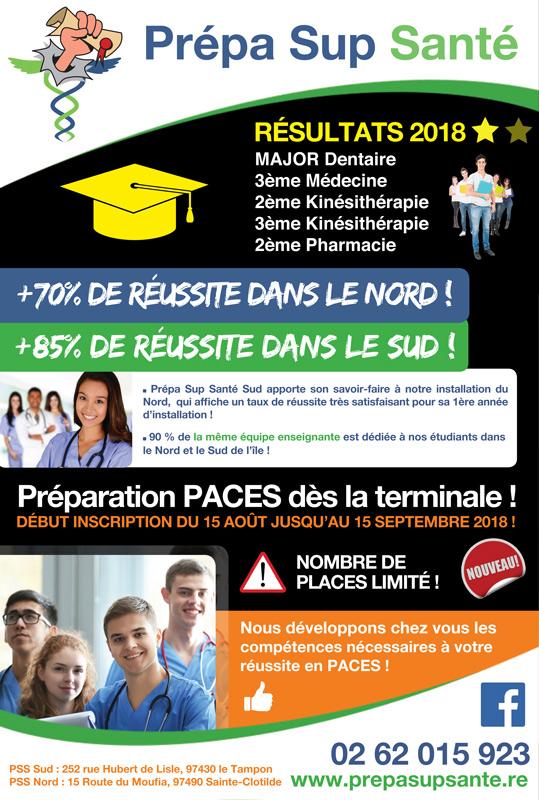 Prépa Sup Santé Réunion - PSS