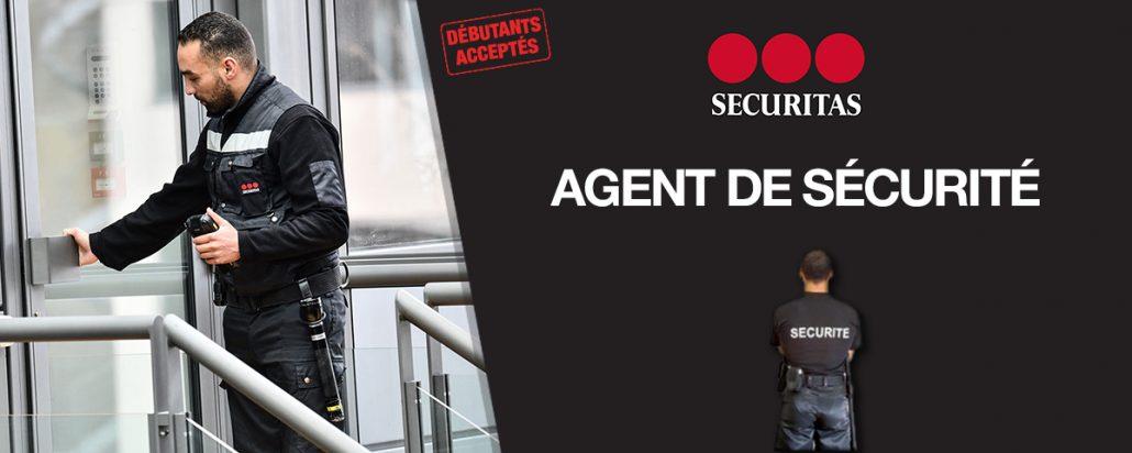 Securitas Offre emploi CDI Agent Sécurité