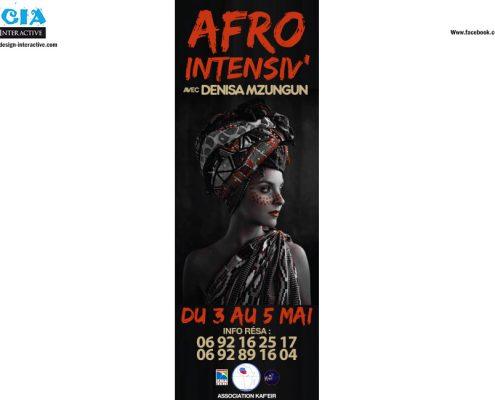 WORKSHOP AFRO COUPÉ DÉCALÉ - DENIZA MZUNGU - ASSOCIATION KAF'EIR
