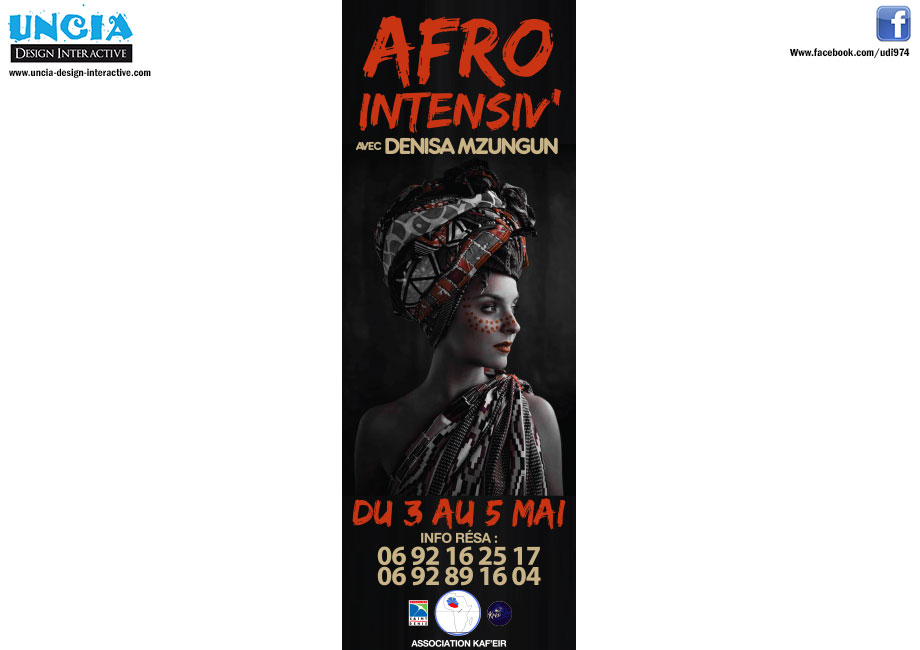 WORKSHOP AFRO COUPÉ DÉCALÉ - DENIZA MZUNGU - ASSOCIATION KAF'EIR