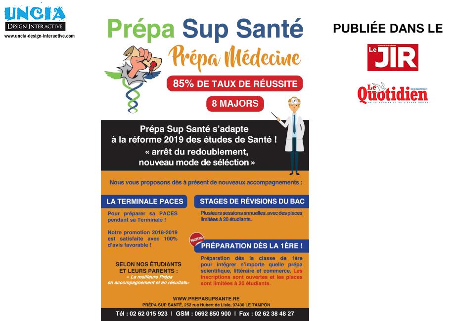 Prepa Sup Santé Réunion